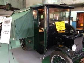 1921 Ford Lamsteed Kampkar