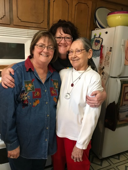 My Mom, me, and my Grandma